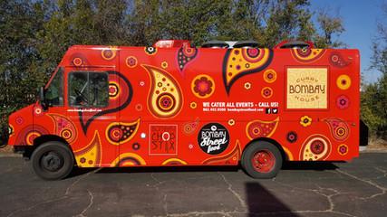 Bombay Food Truck Wrap