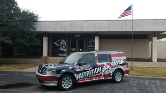 Nutrition Nation Vehicle Wrap