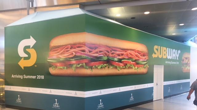 Subway Wall Wrap