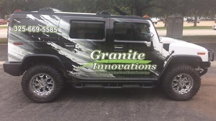 Granite Hummer Wrap