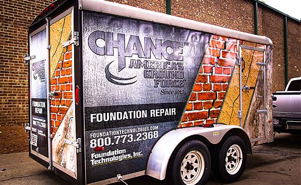 Foundation Trailer Wrap