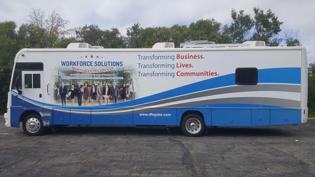 Workforce Bus Wrap