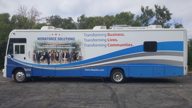 Workforce Bus Wrap