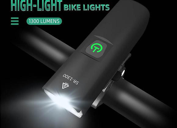 SoRider bicycle 1300 Lumens front led lamp