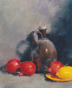 Still Life with Pomegranate