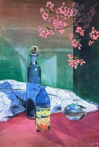 Still Life With Apple Blossom