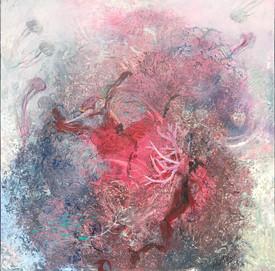 SANCTUARY Acrylic on canvas 91.5cm x 91.5cm