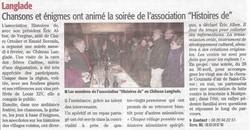 Inauguration Association LHD