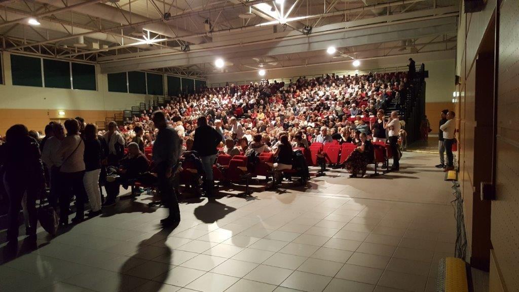 Le public nombreux