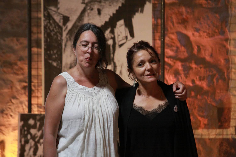 Claire Chevalier et Teddie Allin