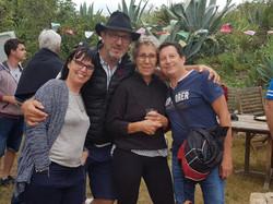 Cathy, Eric, Marie-Noëlle, Jean-Louis