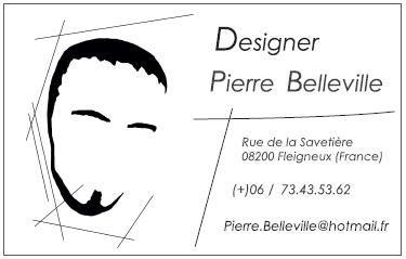 Designer Pierre Belleville