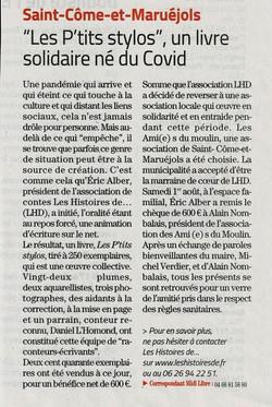 Midi Libre 11-08-2021 St Côme