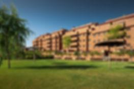 Foto de jardín de La Terrazas del Pinar en Navalcarnero