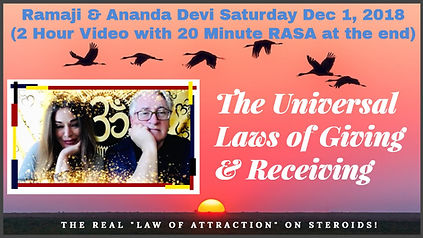 Sat Dec 1 Giving & Receiving - STORE