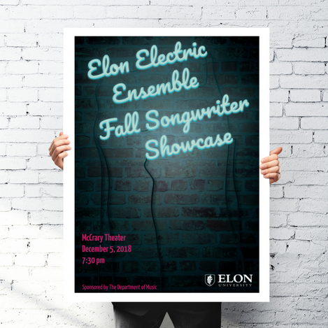 Elon Electric Ensemble Event Flyer