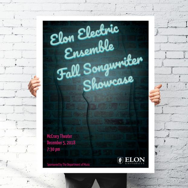 Elon Electric Ensemble Poster
