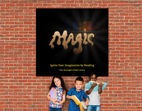 Magic Typography Library Poster