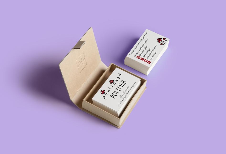 Pintsized Polymer Business Cards