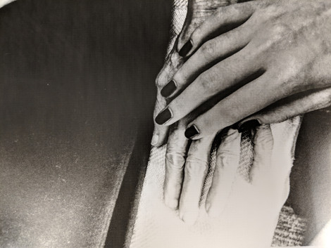 """Ephemeral"" 35mm darkroom print  - Published in Colonnades Art and Literary Magazine"