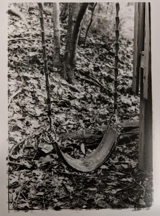 """""""Forgotten Memories"""" 35mm darkroom print"""