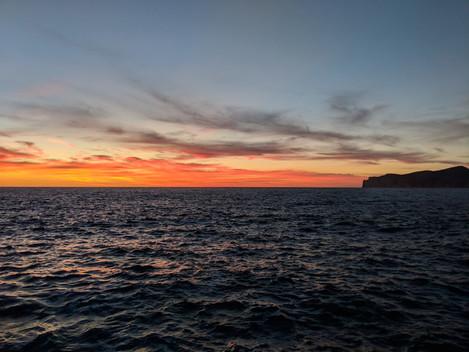 """""""Sunsetting Over the Sea"""" Mallorca, Spain"""