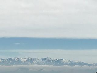 雲と雲の合間に