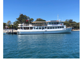 Lady Brisbane Visits Bribie Island Jetty