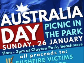 Beachmere Australia Day Picnic in the Park,all proceeds to go 2 ad 4 legged victims of the bushfire