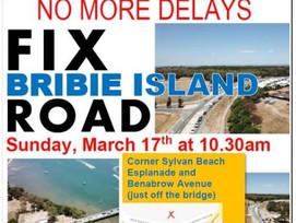 Public Forum to fix Bribie Island RoadOnMarch 17