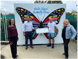 Bribie Island Butterfly House has received a boost from the Federal Government to support their loca