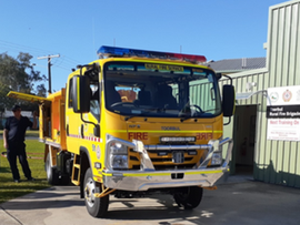 The new fire truck arrived in Toorbulthis Month!