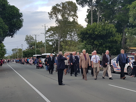 Beachmere Turns out for Anzac Day