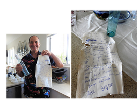 A Message in a Bottle found at Toorbul last Month. WHO / WHERE IS EVELYN WHITEOAK?