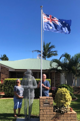 Sandstone Neighbours Get Creative for ANZAC Day