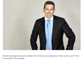 Meet Chris Thompson candidate for Mayor in the Moreton Bay Region in the upcoming council elections