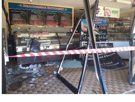 BEACHMERE BUSINESSES BATTERED