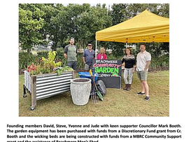 Beachmere Community Garden Project Gets Go-ahead