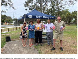FUTURE MOBILE OFFICES ON HORIZON WITH FEDERAL MEMBER FOR LONGMAN TERRY YOUNG MP