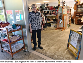 BEACHMERE WILDLIFE SHOP SUPPORTS BIG AND SMALL