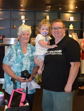 Bribie Island Garden Club Donates Much NeededFunds To 2-Year-Old DylanforHer Walker.