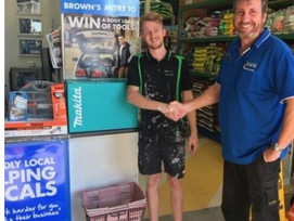 Local Tradie Wins a Boot full of Tools