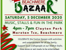 BEACHMERE XMAS BAZAAR AND COMMUNITY CAROLS