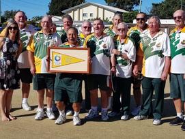 Local Lads (Bongaree Bowls Club Div 5) won Moreton Bay District Bowls Pennant Finals this month