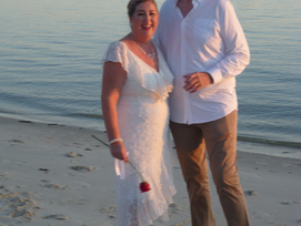 A local wedding by the skin of our teeth and a good news story