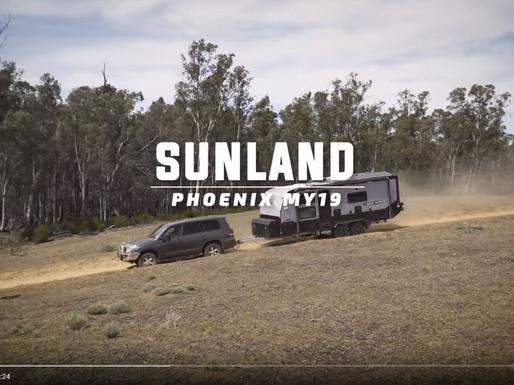 Winner Best Aussie Vans 2018 Sunland Caravans Phoenix MY19 Off Road Caravan
