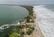 Waves Break Over Bribie Spit