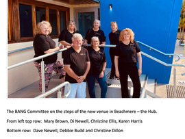 BEACHMERE HUB GETTING CLOSER TO OPENING