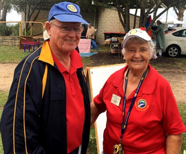 Recipients of QLD Car Sales and Detailing Volunteer Award for June: David and Gillian Parry
