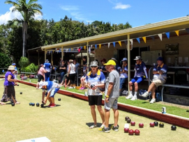 Beachmere Bowls Club hosted an Armistice Day Bowls Tournament